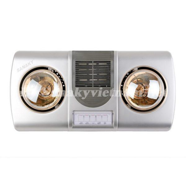 Đèn sưởi nhà tắm có quạt Sanaky SNK-2BW