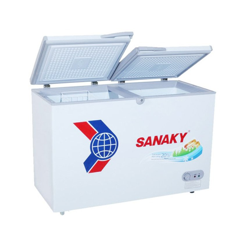 Tủ đông Sanaky VH-2299A1 dàn lạnh đồng dung tích 220 lít