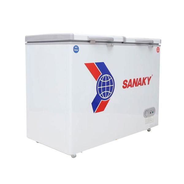 Tủ đông Sanaky SNK-420W 2 ngăn 2 cánh