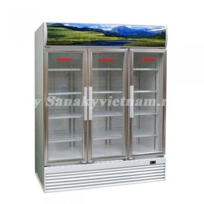 Tủ mát Sanaky VH-1520HP ba cánh mở dung tích 1500 lít