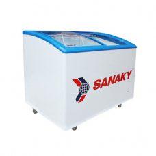 Tủ đông Sanaky VH-302KW nắp kính cong, 2 ngăn đông mát