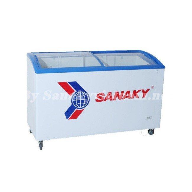 Tủ đông Sanaky VH-602KW kính lùa cong dung tích 600 lít