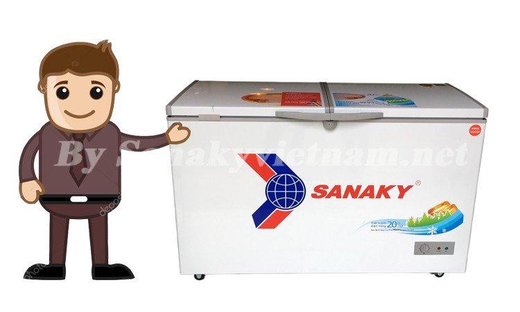 Hướng dẫn sử dụng tủ đông Sanaky