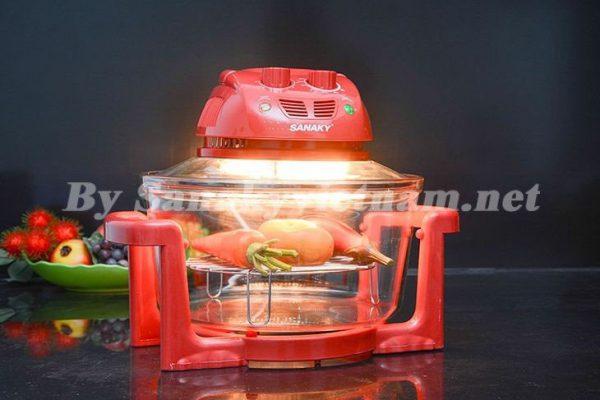 Công nghệ làm nóng Halogen trong lò nướng thủy tinh