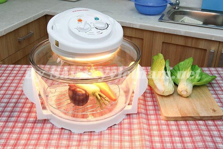 Đèn chiếu sáng trong lò nướng thủy tinh