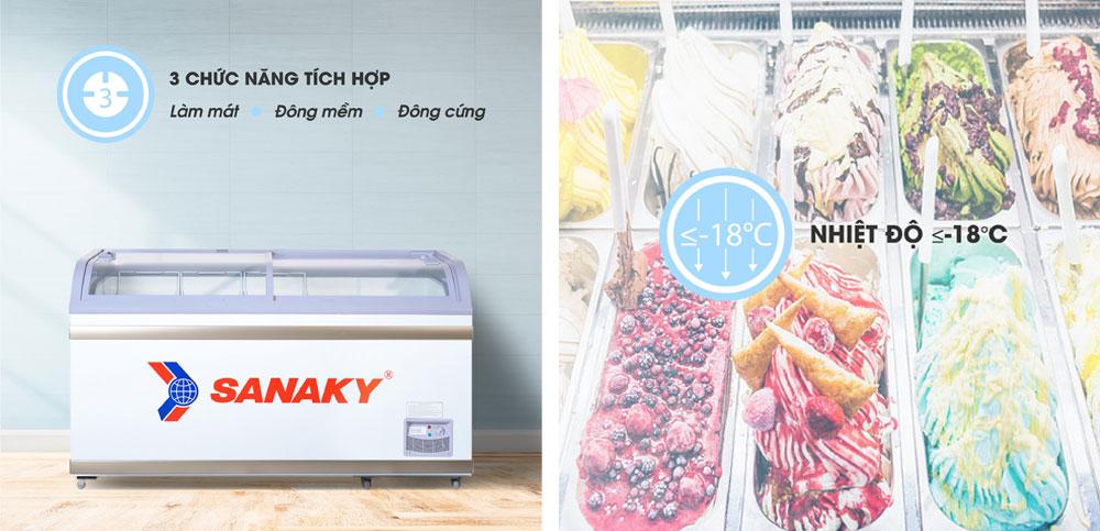 Ngăn đông mềm tủ đông Sanaky VH-888K