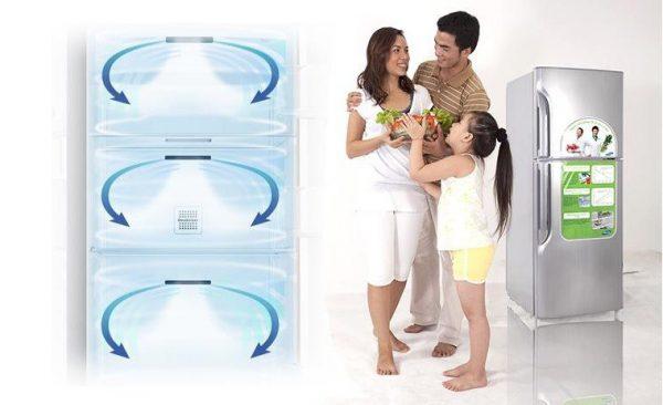 Bạn có biết về hệ thống khí lạnh vòng cung của tủ lạnh