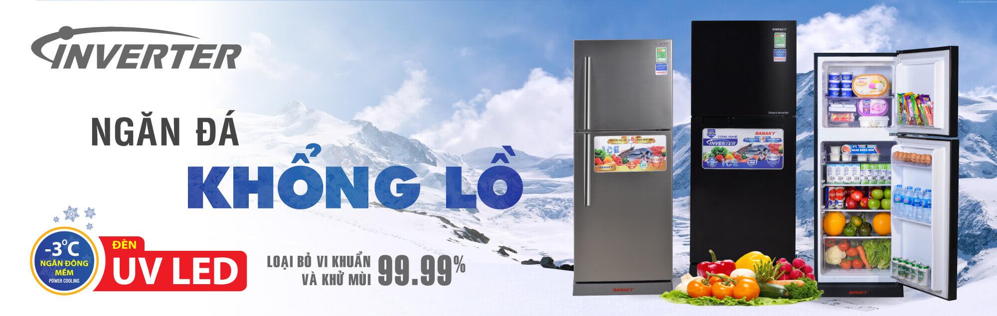 Banner tủ lạnh sanaky 2021