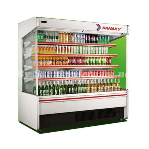 các model tủ mát siêu thị hãng sanaky