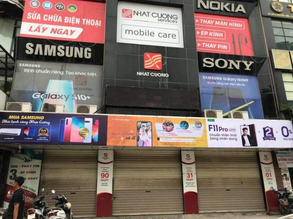 Công an khám xét các cửa hàng của Nhật Cường mobile - 11