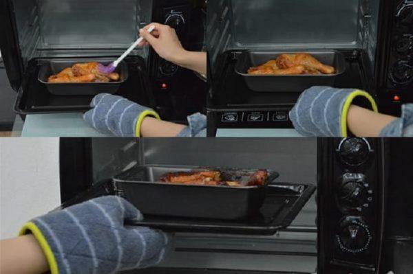 Hướng dẫn làm đùi gà nướng mật ong bằng lò nướng tại nhà