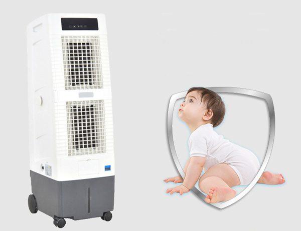 Lưu ý khi sử dụng quạt hơi nước cho trẻ nhỏ