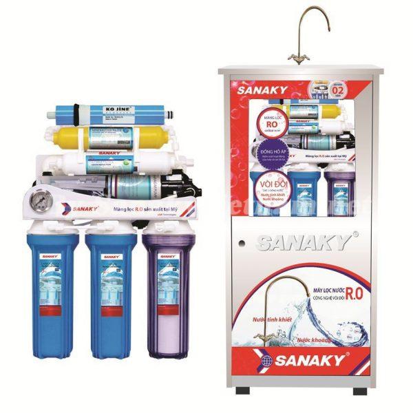 giới thiệu Máy lọc nước RO Sanaky SNK-208