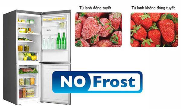 Sử dụng tủ lạnh không đóng tuyết