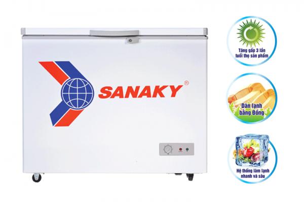 Thông số kỹ thuật tủ đông Sanaky VH-2299HY2