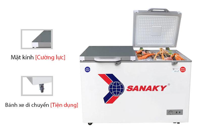 Thông số kỹ thuật tủ đông Sanaky VH-3699W2K
