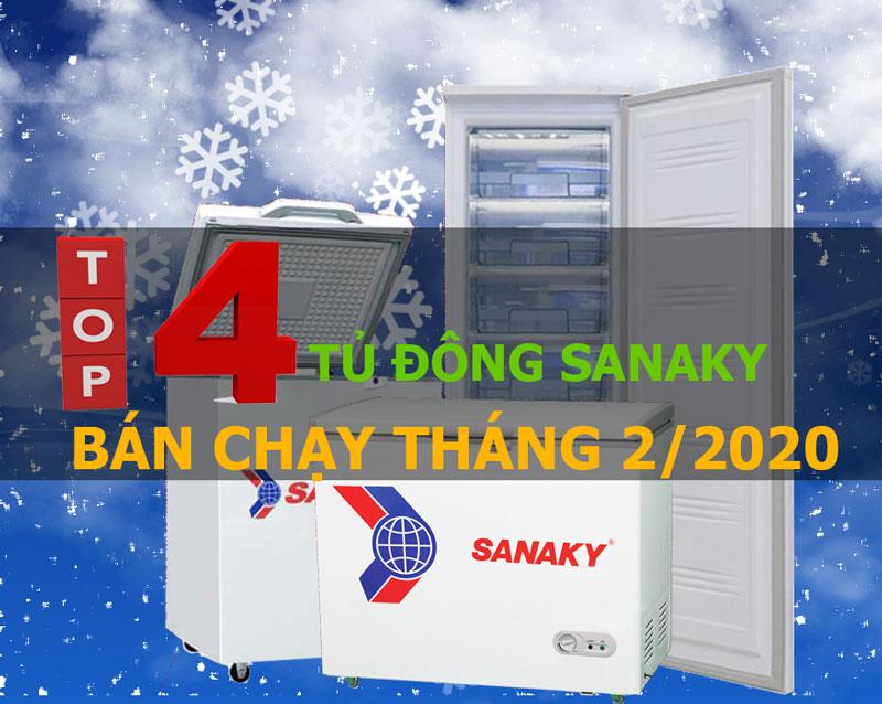 Top tủ đông Sanaky bán chạy tháng 2/2020