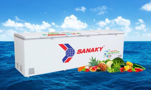 tủ đông 1 ngăn 3 cánh Sanaky Inverter