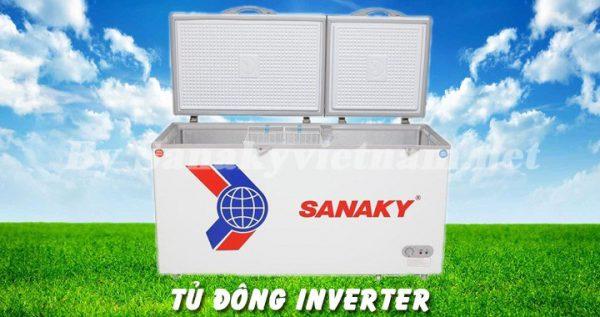 Tủ đông Inverter Sanaky