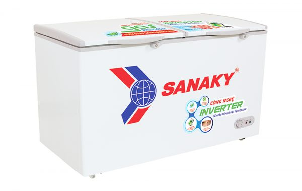 Tủ đông Sanaky VH-2599W3 Inverter dung tích 250 lít