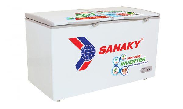 Tủ đông Inverter Sanaky VH-2899A3 dàn lạnh ống đồng, tiết kiệm điện năng