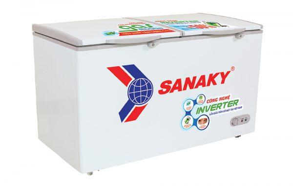 Tủ đông Inverter Sanaky VH-4099A3 dung tích 400 lít, dàn lạnh đồng.