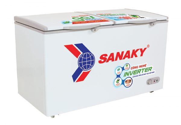 Tủ đông Inverter Sanaky VH-6699HY3 dung tích 660 lít, dàn lạnh đồng, công nghệ tiết kiệm điện Inverter