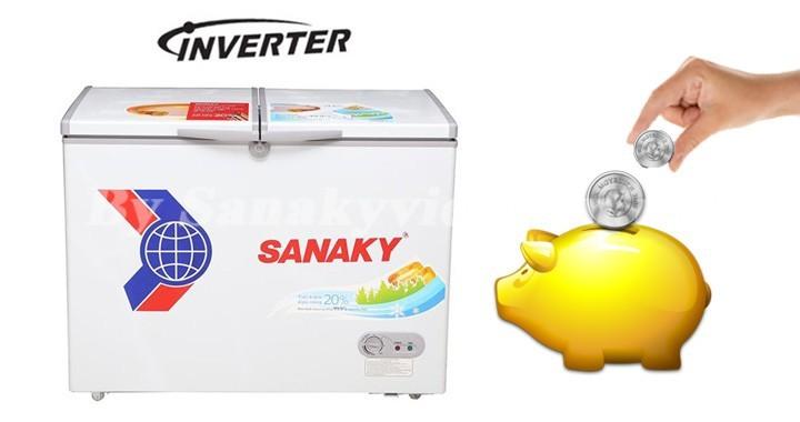Tủ đông Inverter tiết kiệm đến 50% điện năng tiêu thụ