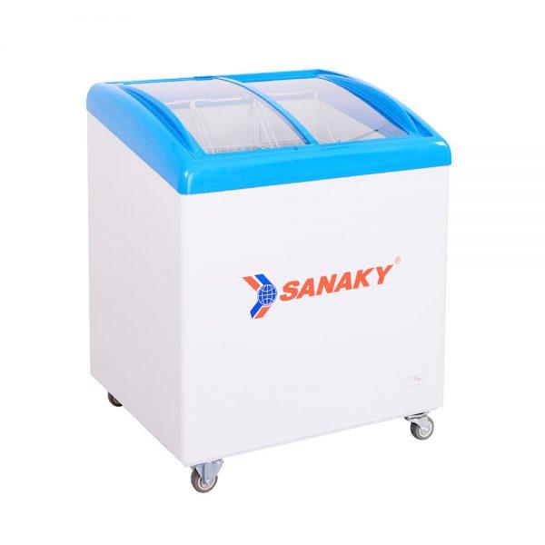 Tủ đông mặt kính cong Sanaky VH-282K
