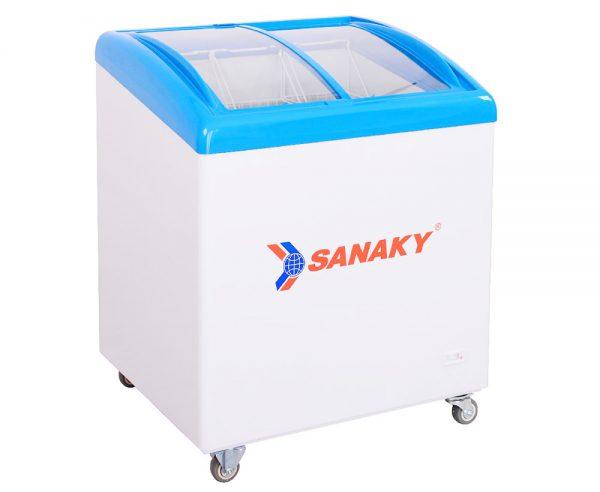 Tủ đông mặt kính cong Sanaky VH-282K dung tích 280 lít