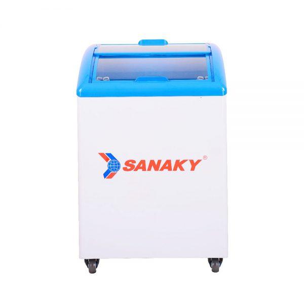 Tủ đông mặt kính cong Sanaky VH-182K