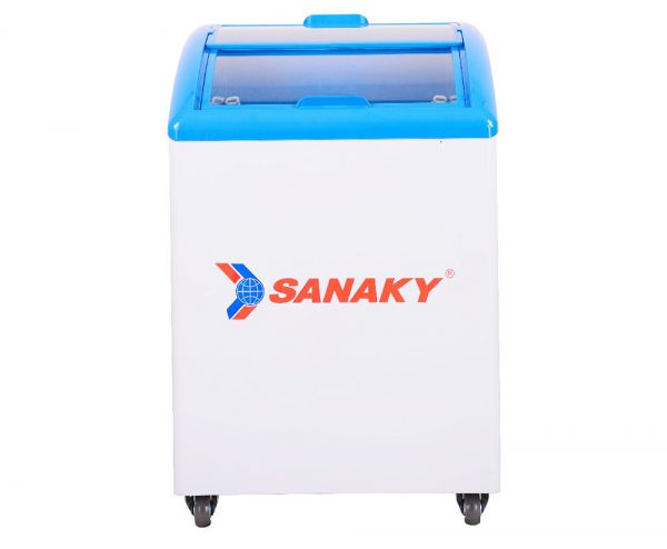 Tủ đông mặt kính cong Sanaky VH-182K dung tích 180 lít