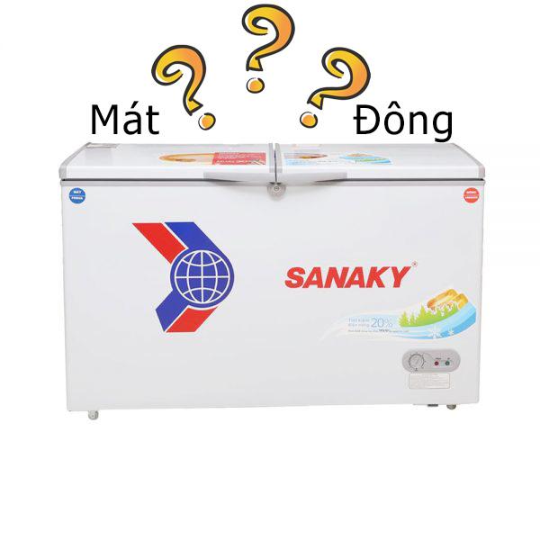 tủ đông mát sanaky là gì