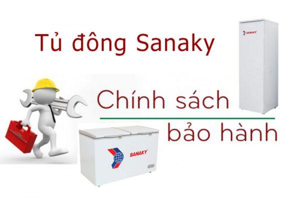 Tủ đông Sanaky bảo hành mấy năm