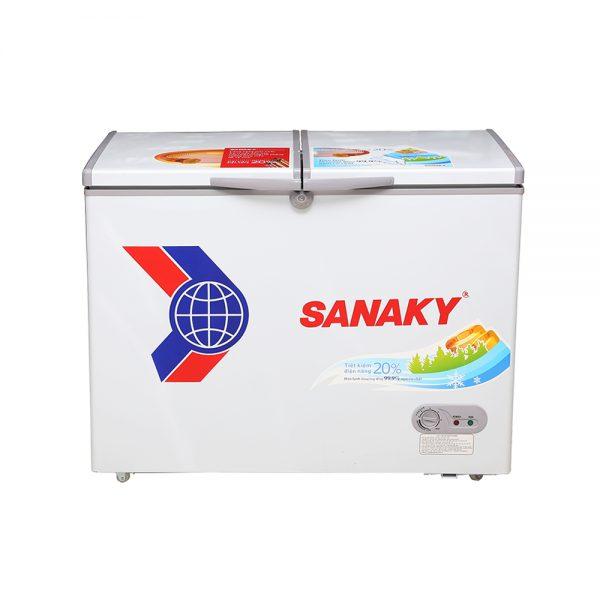 Tủ đông Sanaky chính hãng SNK-3700A dàn đồng