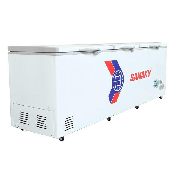 Tủ đông Sanaky VH-1199HY3 dàn đồn 1 ngăn đông công nghệ inverter