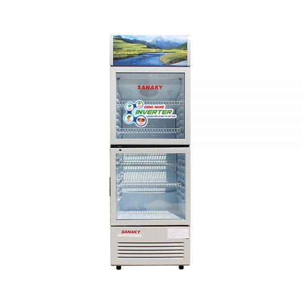 Tủ mát Sanaky inverter VH-258W3 dung tích 250 lít