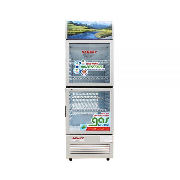 Tủ mát Inverter Sanaky VH-259W3 dàn lạnh đồng