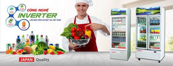 những công nghệ được ứng dụng trong tủ mát sanaky